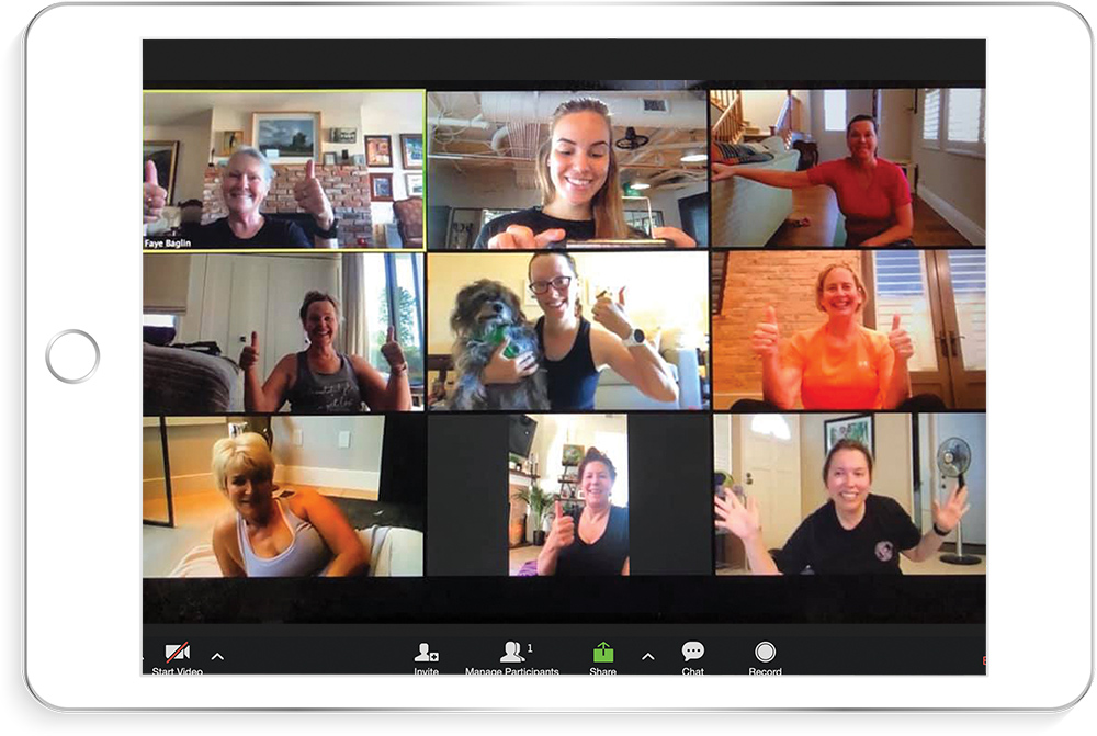 Online Group Training with Evolve Fitness